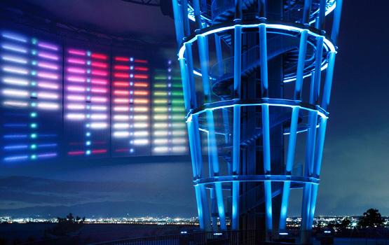 繊細な色表現を可能にした照明システム 「デジタルカラーライティング」