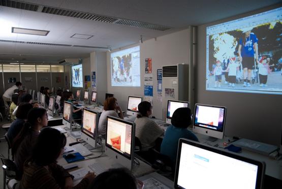 成安造形大学の「東日本大震災 思い出写真復元プロジェクト」の取組み
