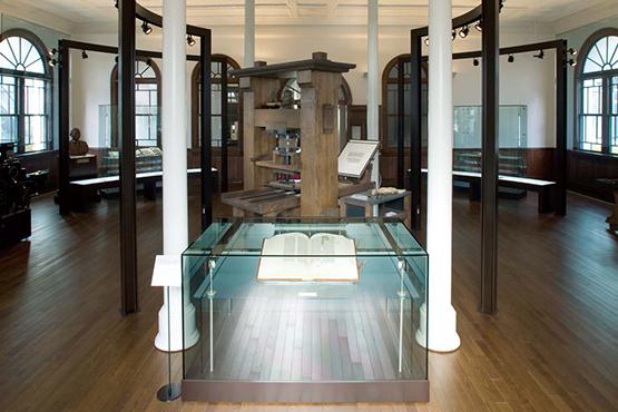 ニッシャ印刷文化振興財団本館・印刷歴史館 展示品のご案内
