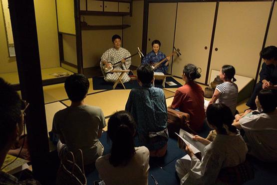 京の七夕2015協賛事業「おりんde風鈴まつり 門前町まちかどコンサート2015」