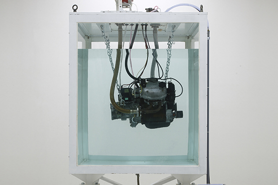 國府理「水中エンジン」再制作プロジェクトについて―第1回(全4回):「問い」を喚起する装置としての「再制作」