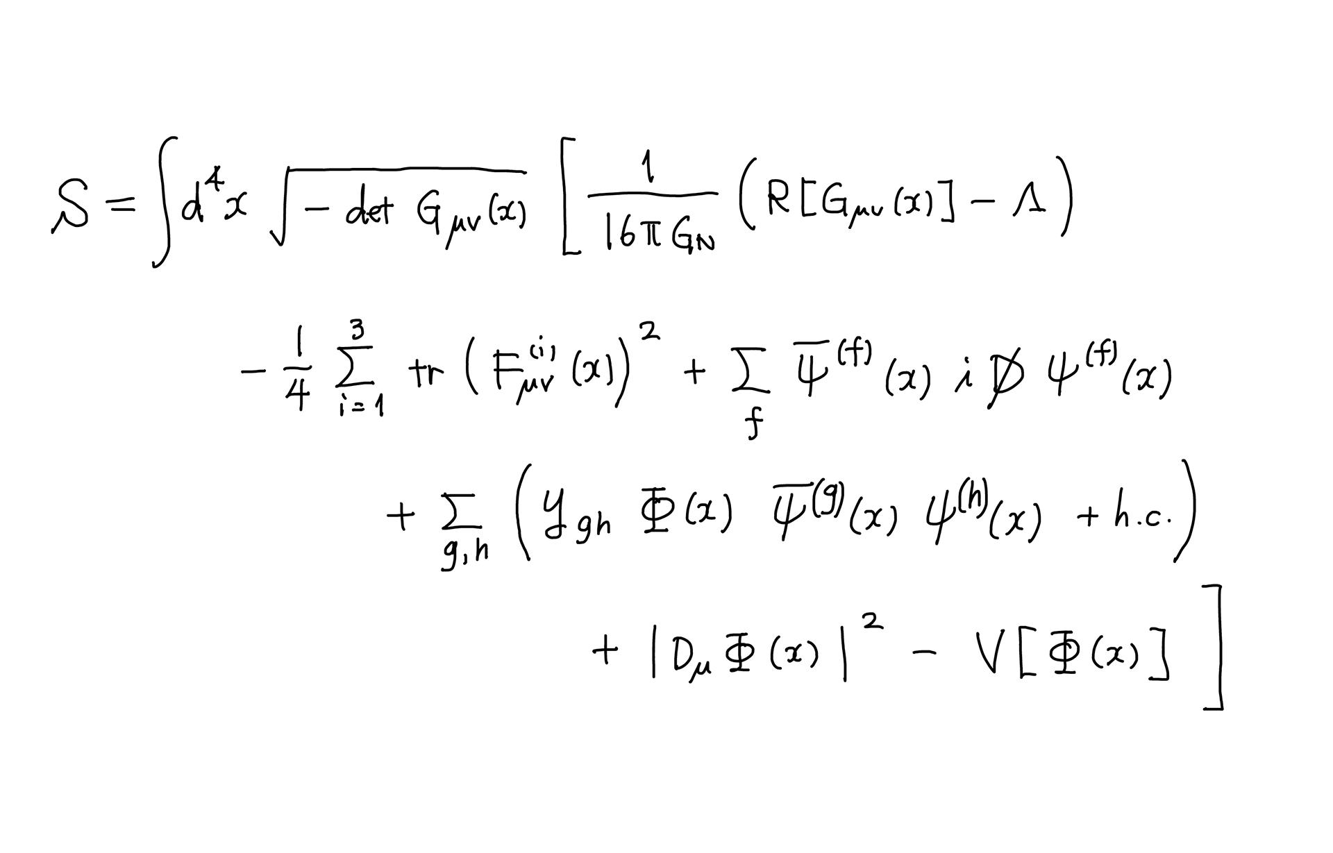 宇宙を支配する数式を、あなたの手のひらに 文:橋本幸士(大阪大学 ...