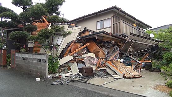 熊本地震 現地レポート